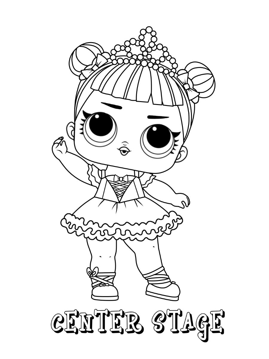 Lol Dolls Coloring Pages Best Coloring Pages For Kids Unicorn Coloring Pages Cute Coloring Pages Family Coloring Pages