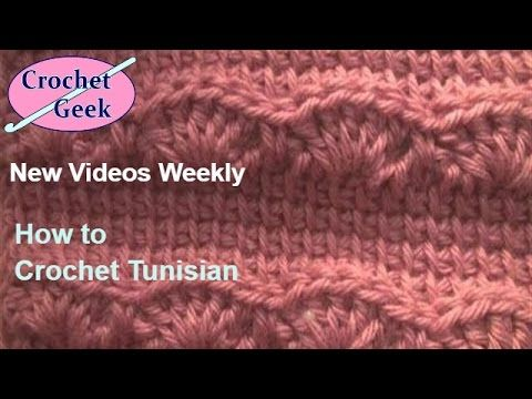 How to make #Crochet knit ENGLISH Andrew\'s Keepsake Blanket Scarf ...
