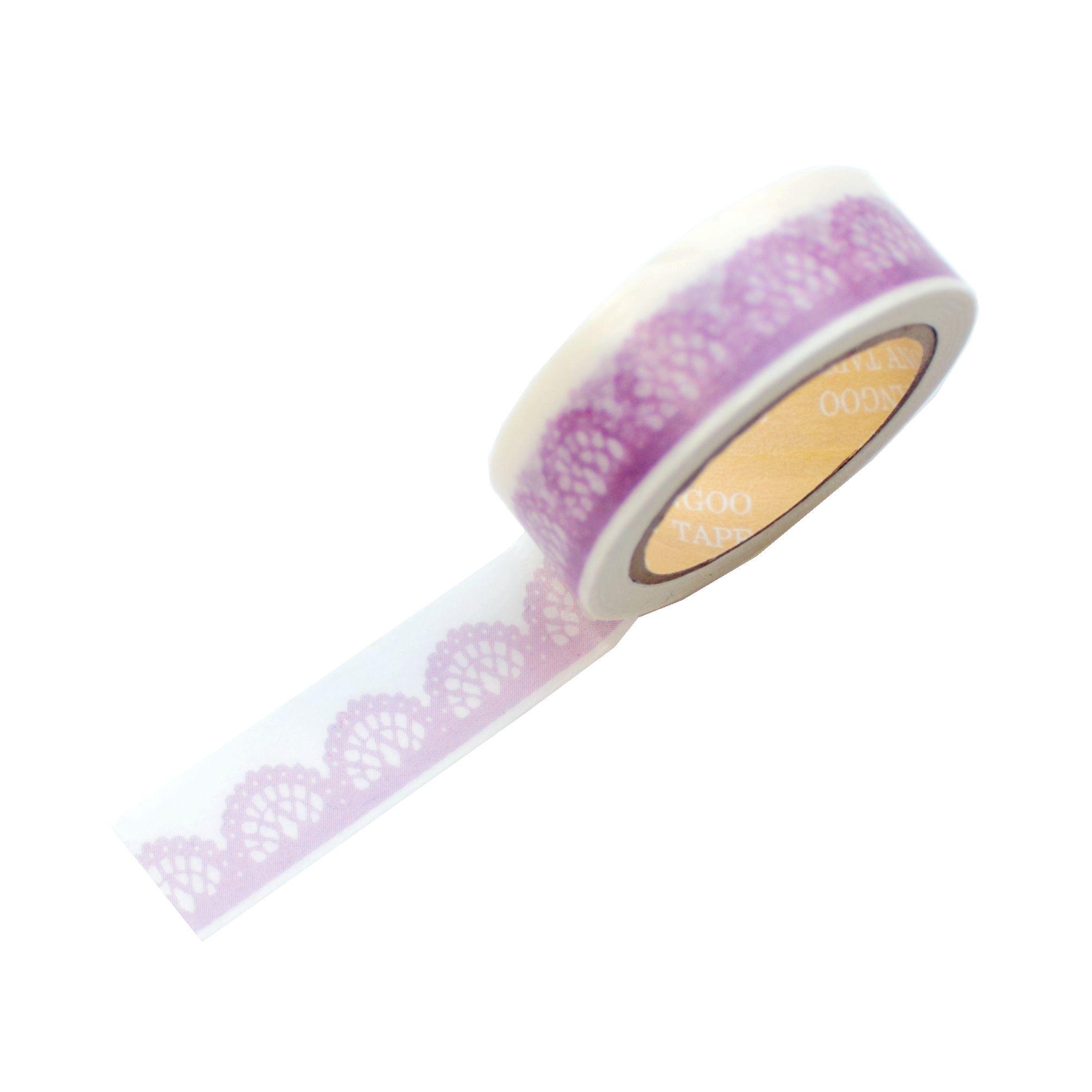 Washi tape dentelle mauve : http://www.belledecoeur.com/deco-tape.html