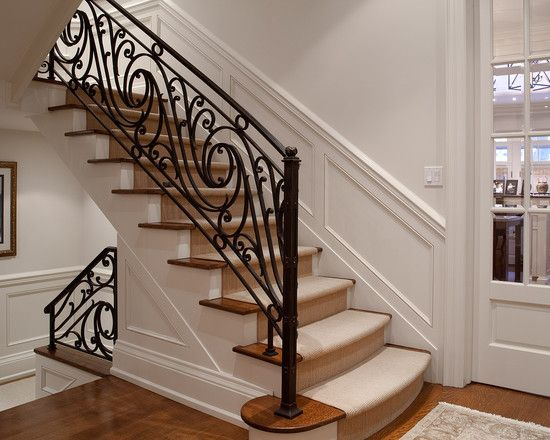 Traditional Staircase Design Pictures Remodel Decor And Ideas