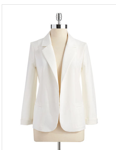 Love…Ady White Open Blazer @Lord  Taylor #LoveAdy label #blazer #power #awesome #trend #style #ideal
