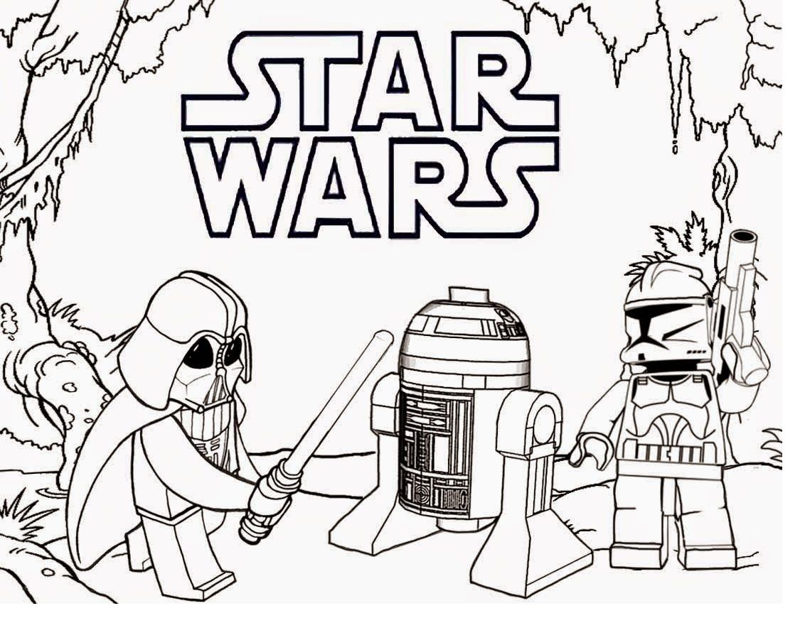 star-wars-lego-coloring-pages | Star Wars | Pinterest | Lego and ...