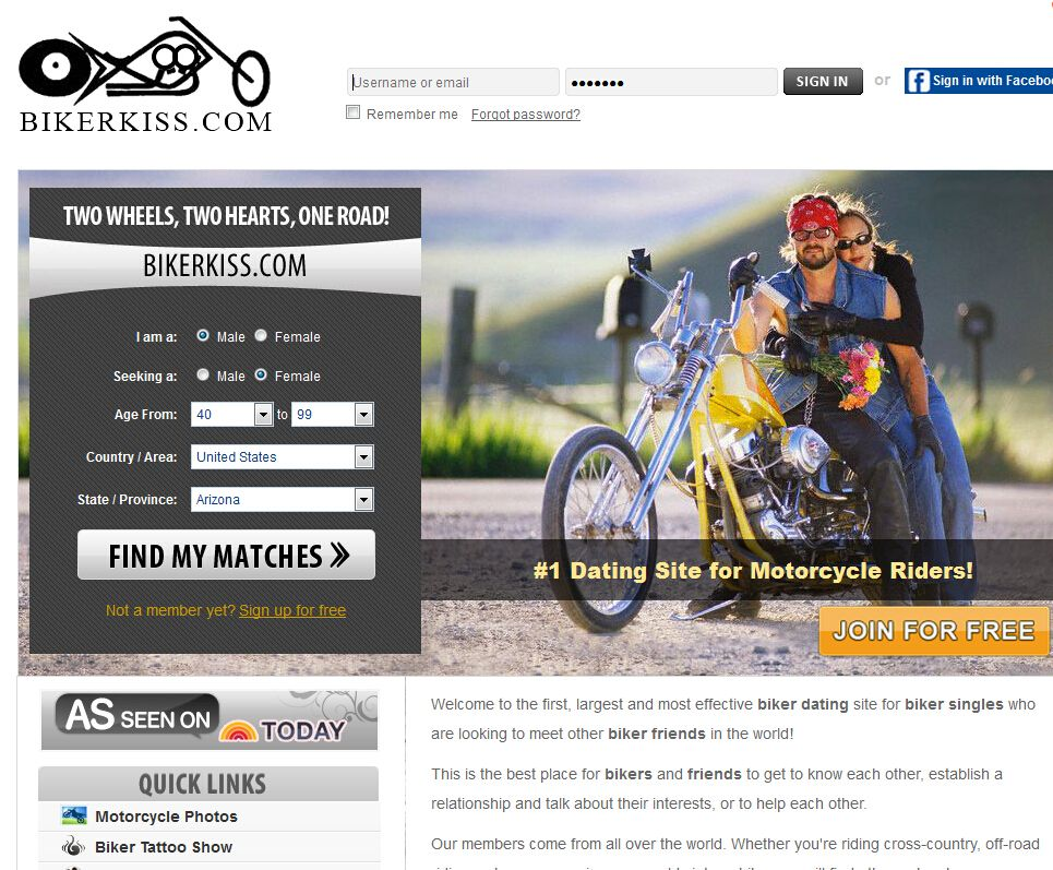 Online Dating For Bikers Sites Free