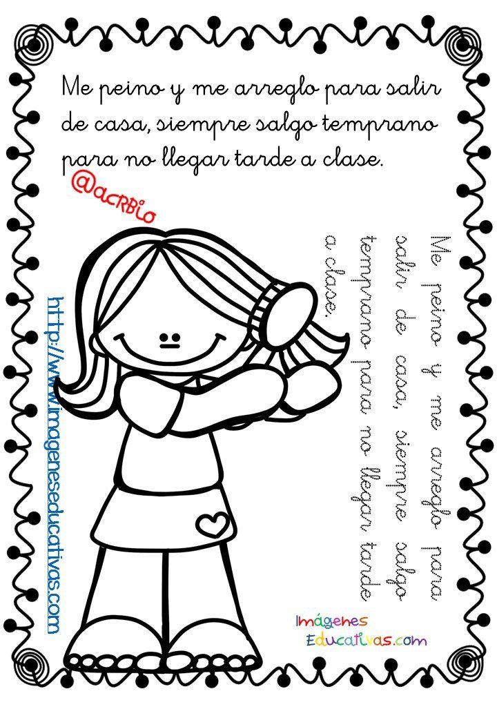 Mi librito de las RUTINAS: leo, coloreo y repaso | Pinterest ...