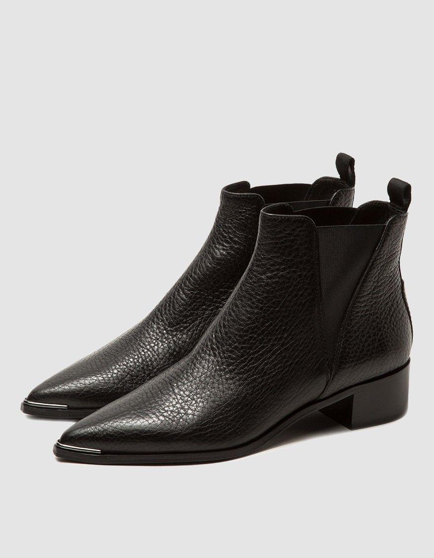 f741ef43ee0 Acne Studios   Jensen Pebble Grain Ankle Boot