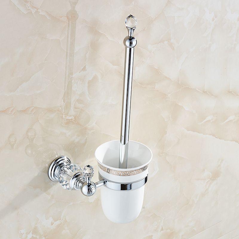 Pas cher Toilettes Supports de Brosse De Luxe Mur Monté En ...
