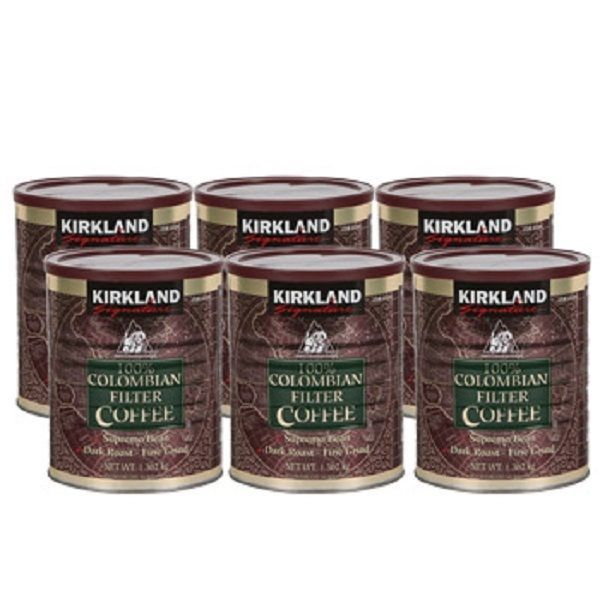 Colombian Ground Filter Coffee Kirkland Signature 100