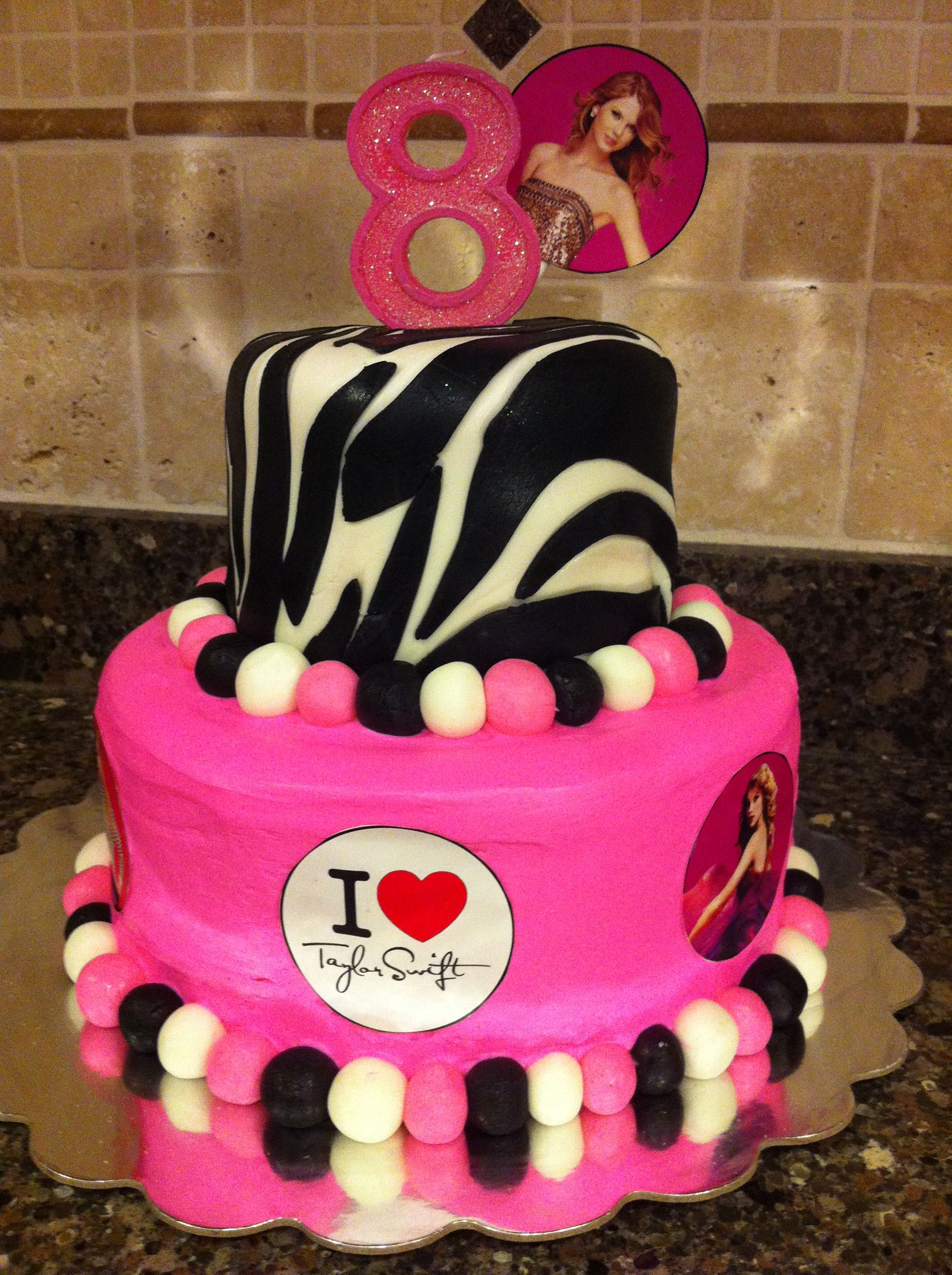 Taylor Swift Cake Birthday Alison Types