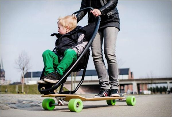 The Longboard Stroller | Peggy'S Pin Pals | Pinterest | Designs