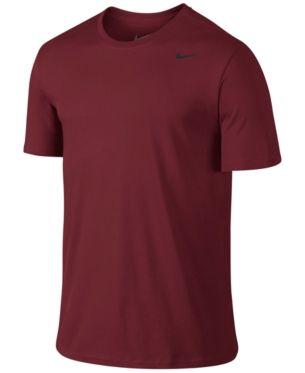 Cotton T Men's Dri Nike in Crew Shirt 2XL Red Fit Neck UMGLVpqSz
