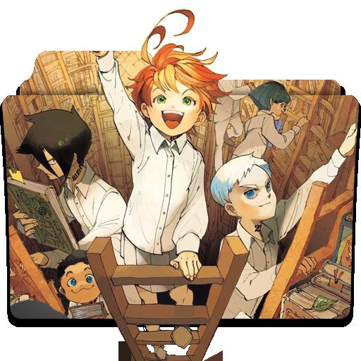 Yakusoku no Neverland Folder Icon 2 by karsimyuri on