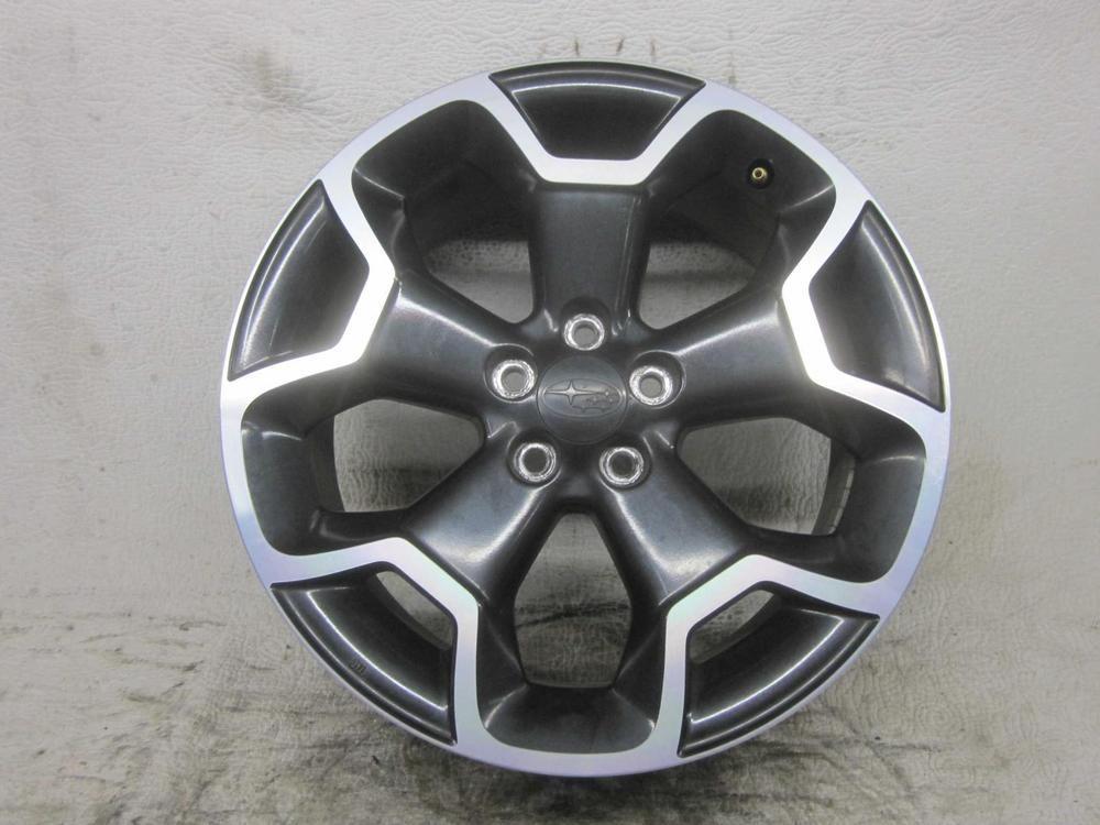 2013 subaru xv crosstrek wheel 17x7 alloy oem autogator