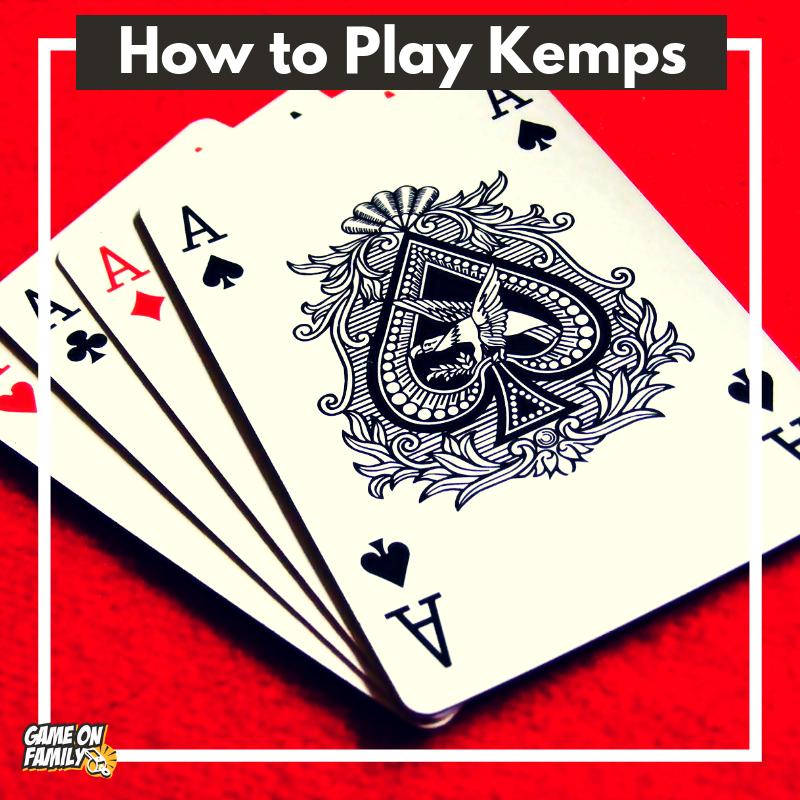 How to Play Kemps a fun, simple card game! Fun card