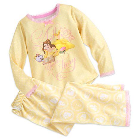 Belle Sleep Set for Girls | Disney Store