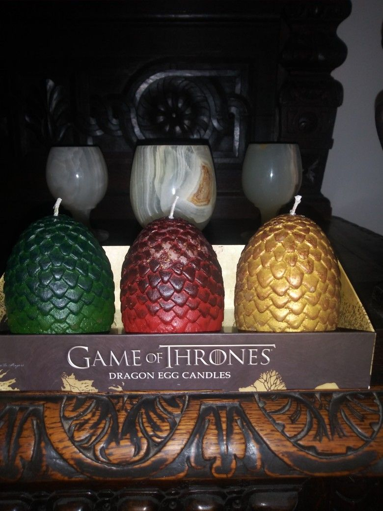Dragon Egg Candle Action Figures Game of Thrones Action   Etsy