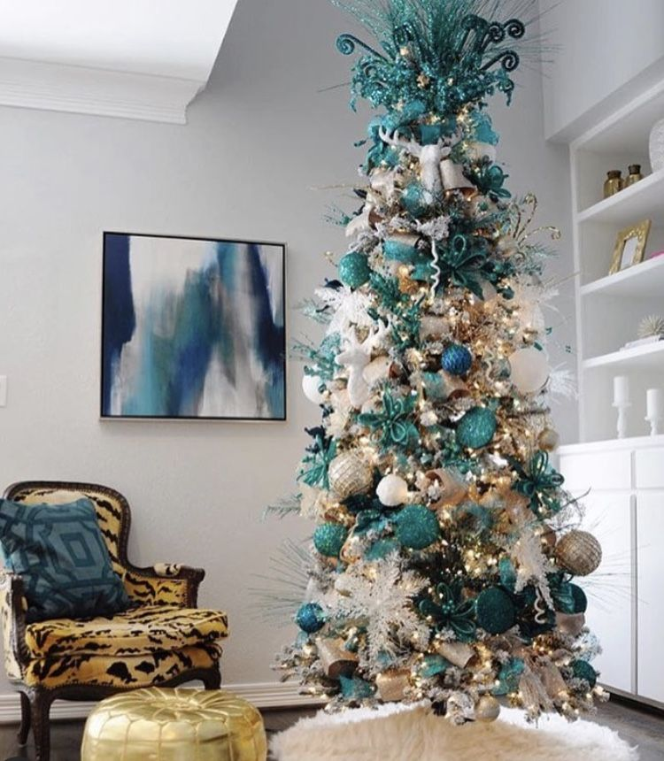 How To Theme Your Christmas Tree -   17 christmas tree decor 2020 blue ideas