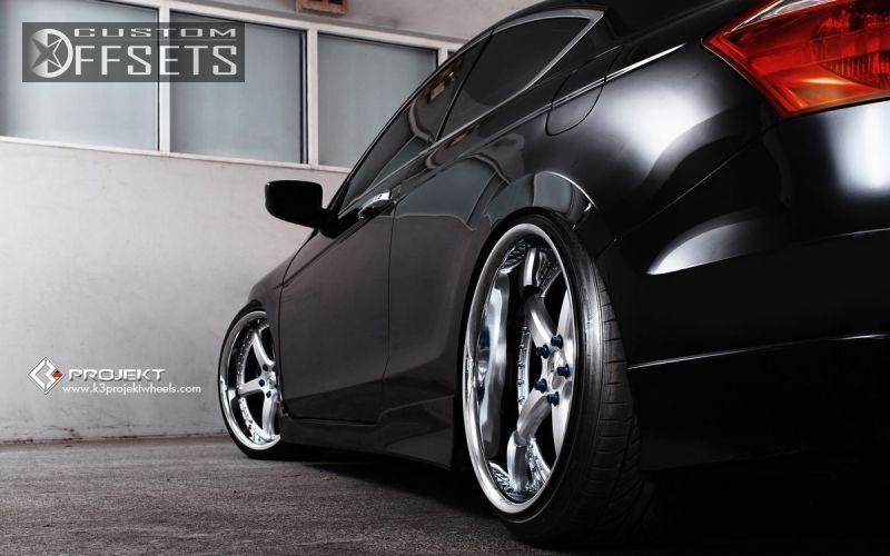 2014 Honda Accord Rims >> Wheel Offset 2010 Honda Accord Flush Dropped 3 Custom Rims | Honda accord, Honda, Photoshoot