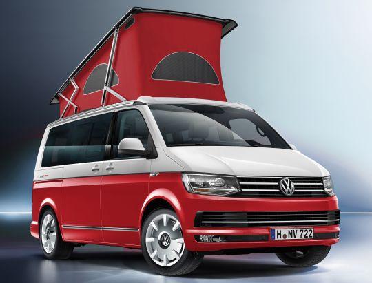 Volkswagen California Ocean Red T6 2016 Pr Vw California Camper Vw Eurovan Vans California