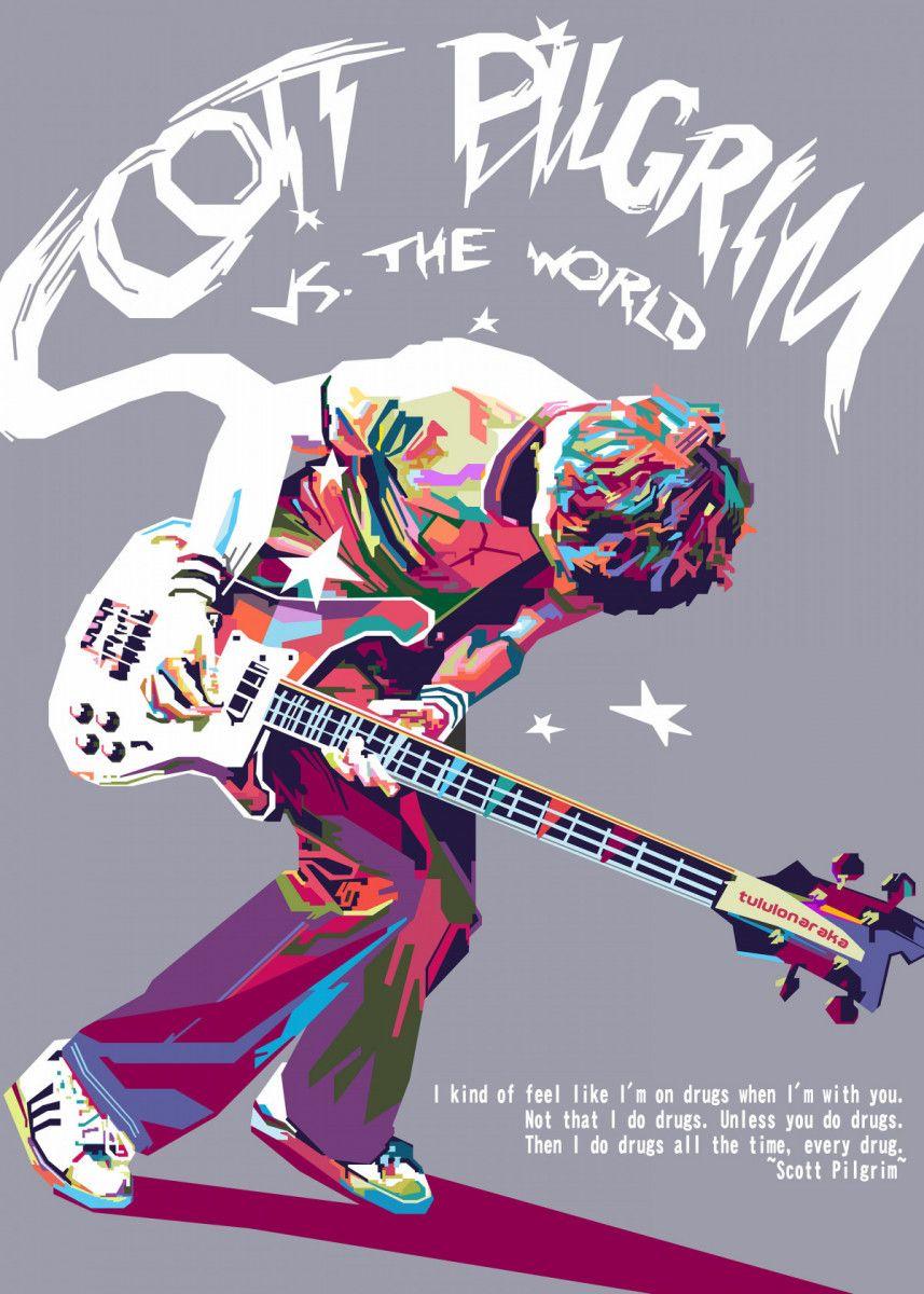 """Scott Pilgrim Poster Mini 11/""""X17/"""""""