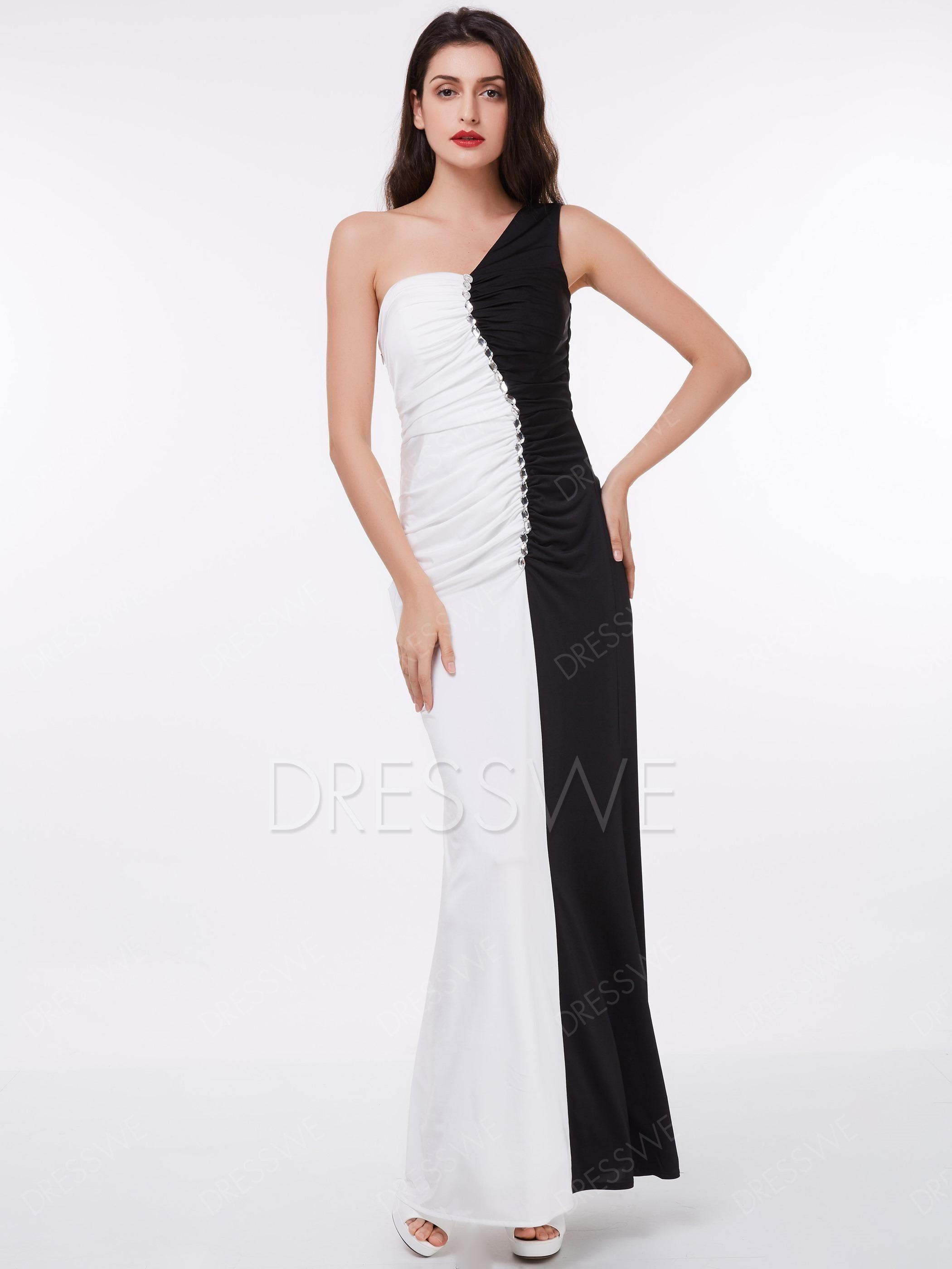 Xmas christmas dresswe dresswe classic black and white pleats