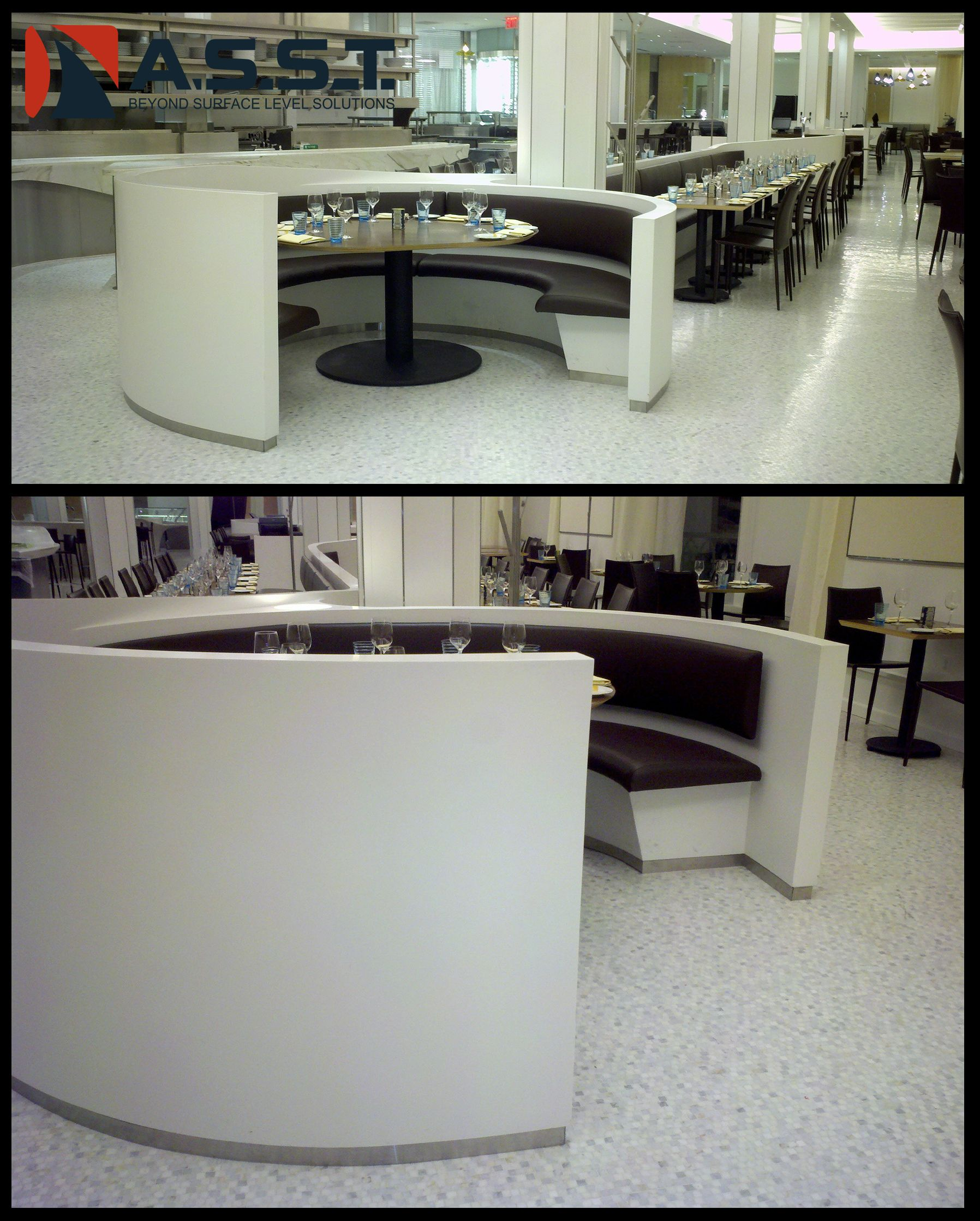 We Fabricated These Booths And Tables For The Macy S Restaurant In