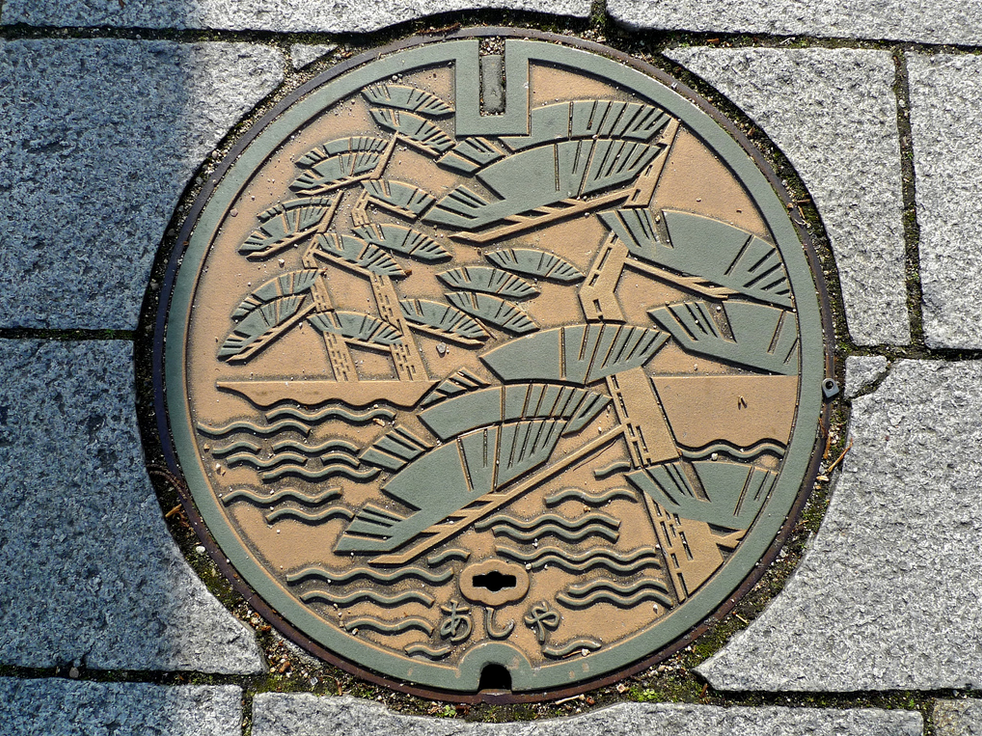 Every city looks to beautify itself. It attracts visitors and quite frankly just makes life there more pleasant for all its residents. Many regions will come up with their own unique artistic outlets to enhance their area's image, but Japan has a very unusual take on this approach. It seems in Japan, local municipalities have taken to turning their sewer's manhole covers into pieces of art...