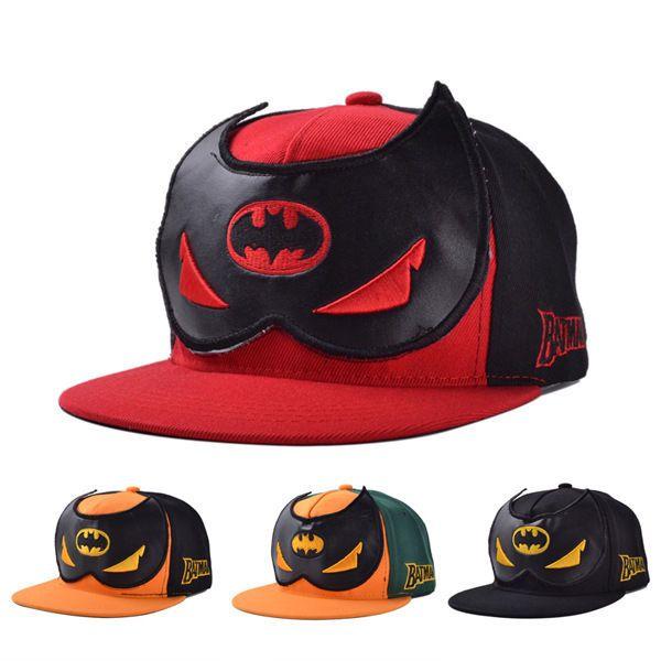 New Batman Hip Hop Cosplay Snapback Adjustable Baseball Cap Flat Hat Gift  Unisex  New  NewsboyCabbie 1ea01fa8f890