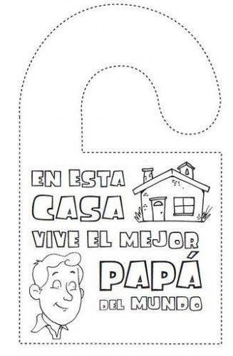 Resultado de imagen para tarjetas dia del padre para imprimir ...