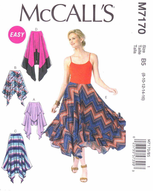 Mccalls Sewing Pattern 7170 Womens Plus Size 18w 24w Easy Knit