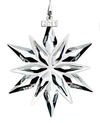 Swarovski Christmas Ornament, 2011 Annual Ornament - Swarovski Christmas Ornament, 2011 Annual Ornament Beauty