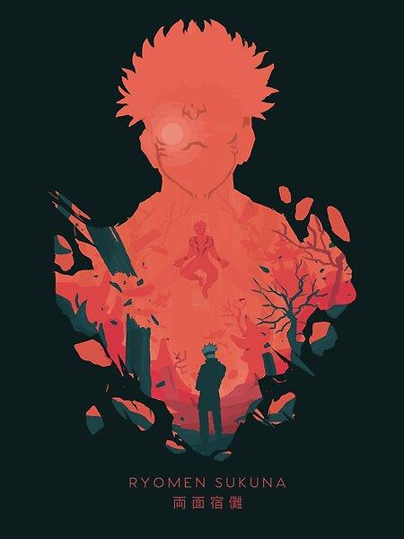 Satoru Gojo Enters Ryomen Sukuna S Territory Satoru Gojo Territory Expansion And Sukuna Satoru Gojo Illustr Animes Wallpapers Personagens De Anime Anime Luta