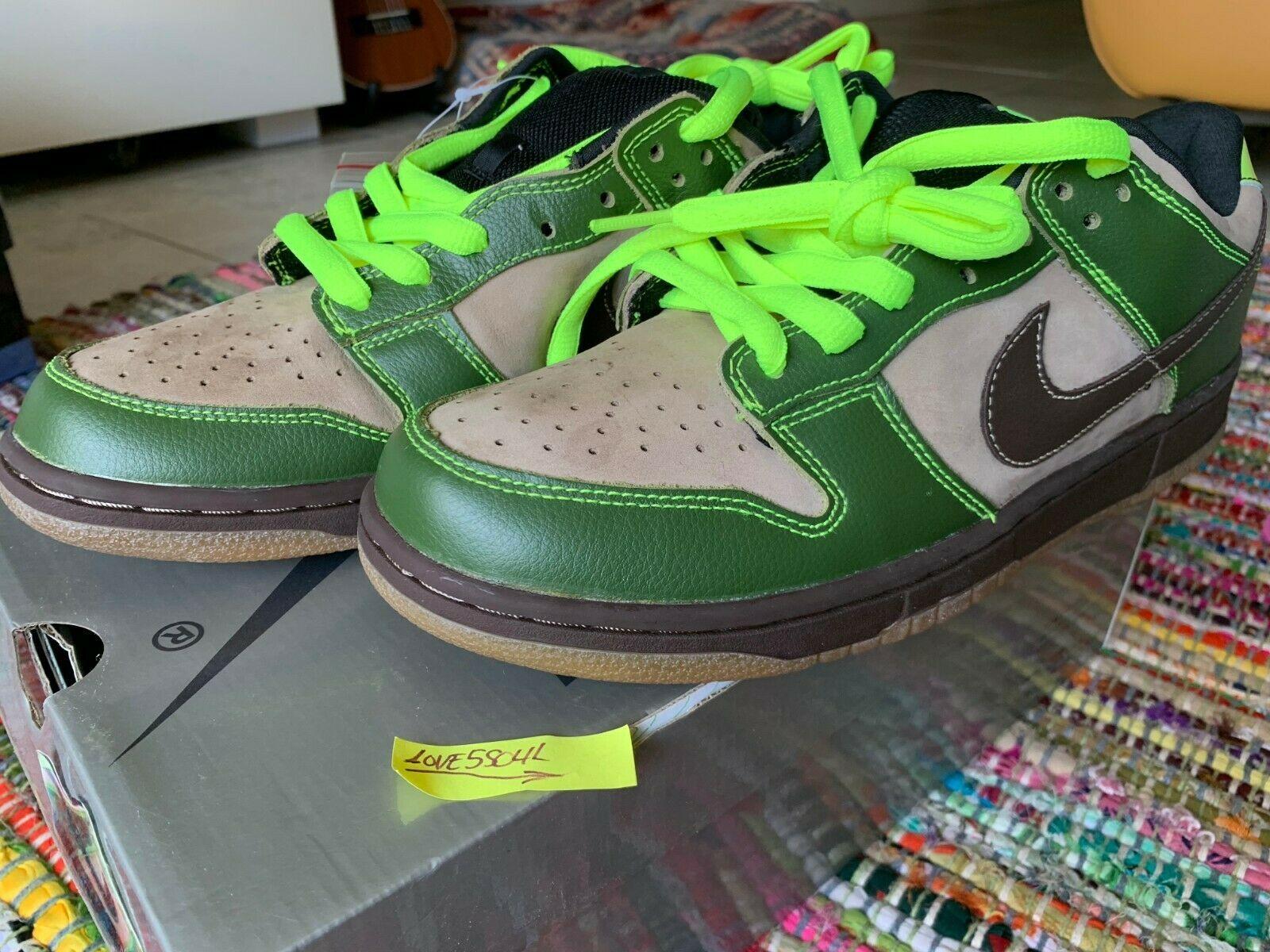 huge discount d81ac 34d67 Nike Dunk Low Pro SB JEDI 11 DS Super SILVER BOX HEAT 1st Series 100%