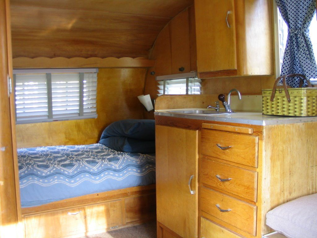 Wendys 1959 Shasta Travel Trailer Updated Interior A Simple And Lovely