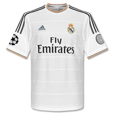 Camiseta del Real Madrid 2013-2014 Champions League  ea85614afb4f5