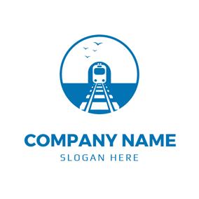 Free Train Logo Designs Designevo Logo Maker Logo Design