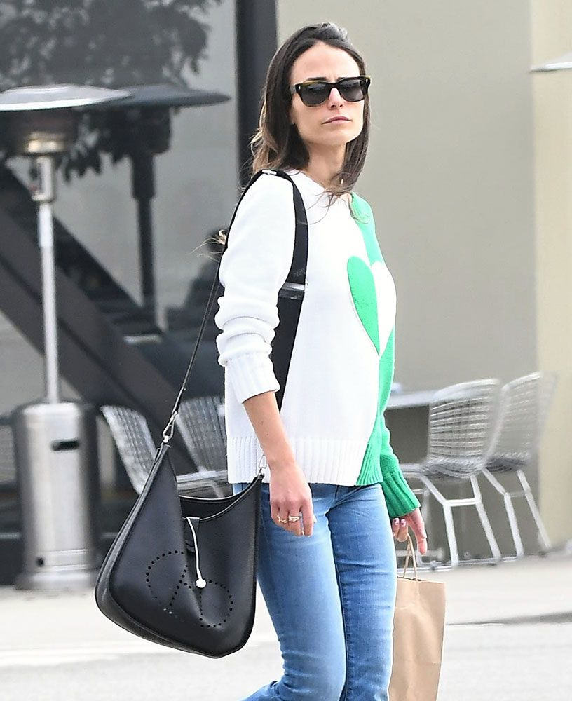 596662e9a6e6 Just Can t Get Enough  Jordana Brewster and Her Hermès Evelyne Bags ...