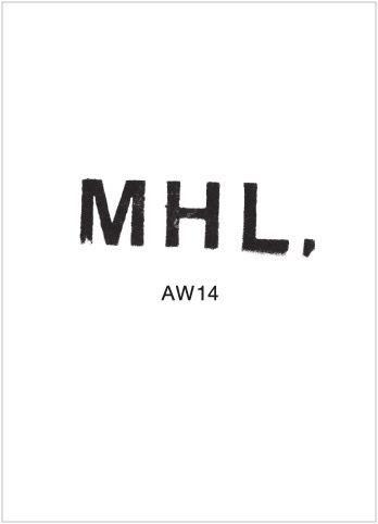 """BB&TT on Twitter: """"디자이너 브랜드 마가렛 호웰의 세컨드 라인인 MHL,의 로고입니다. 투박한 선과 조금 비뚤게 내려앉은 L이 보다 자유롭고 캐주얼한 이미지를 전달합니다 http://t.co/D9Nfwv6JAz"""""""
