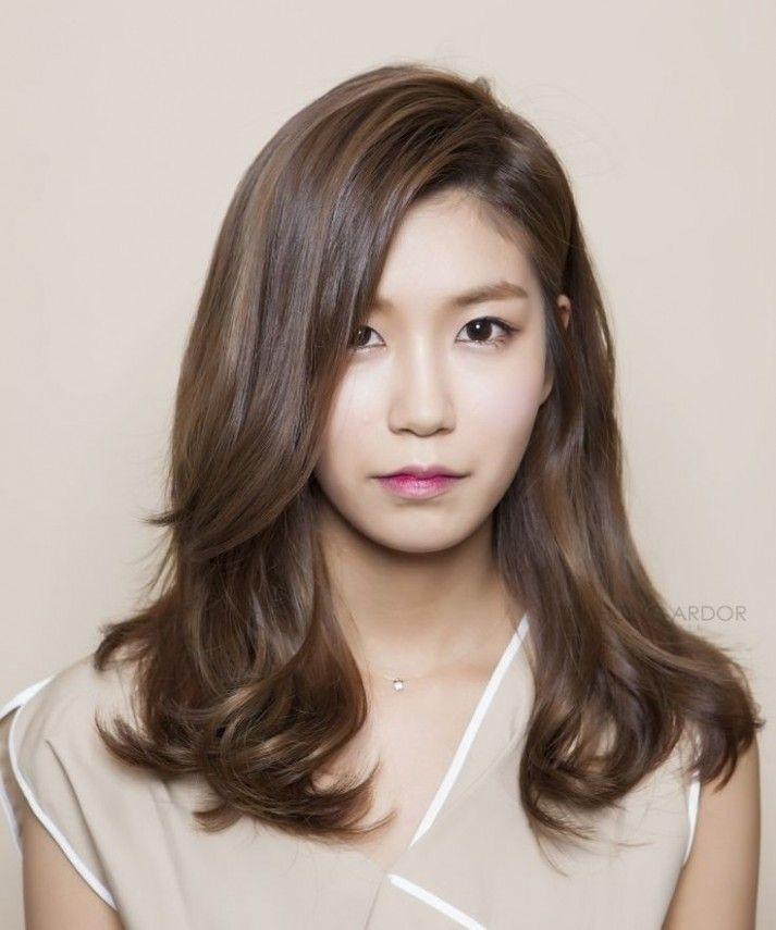 korean perm medium hairstyle korean perm medium hairstyle