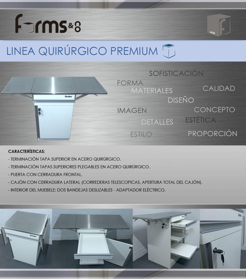 Mueble Rodante Quir Rgico Forms Co Muebles Odontologicos  # Muebles Odontologicos