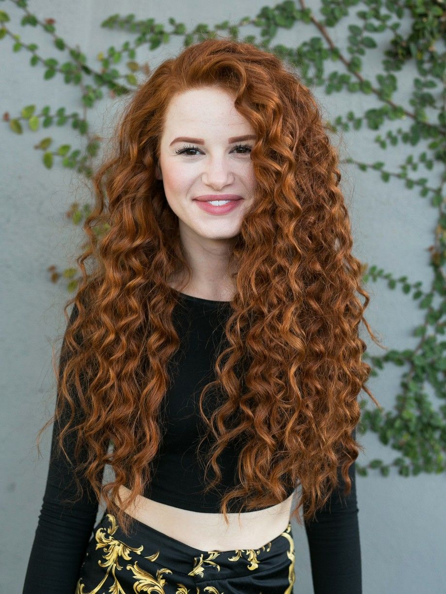 Madelaine Petsch Curly Red Hair New Book 01 Easy Hairstyles For Long Hair Curly Hair Styles Red Curly Hair