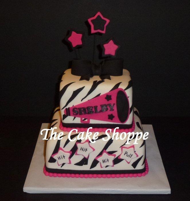 Cheerleading Cake Cakes Pinterest Cake Birthday Cake And