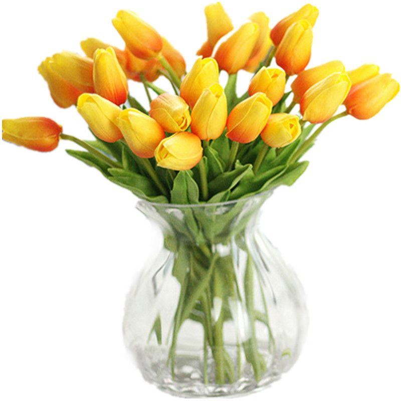 Cheap Touch Flower Buy Quality Real Touch Flowers Directly From China Tulip Artificial Flowers Supp Real Touch Wedding Flowers Real Touch Flowers Home Wedding