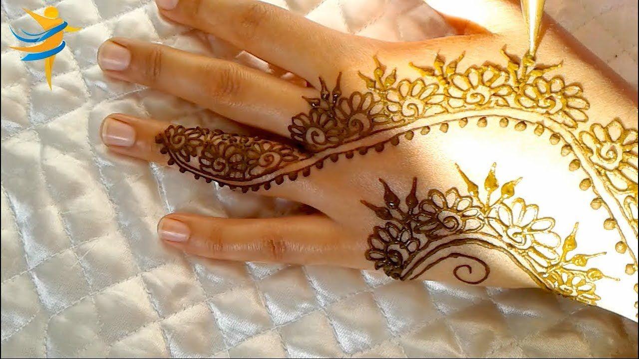 Pin By Mehndi Design Pro On تعليم النقش بالحناء Henna Hand Tattoo Hand Tattoos Hand Henna