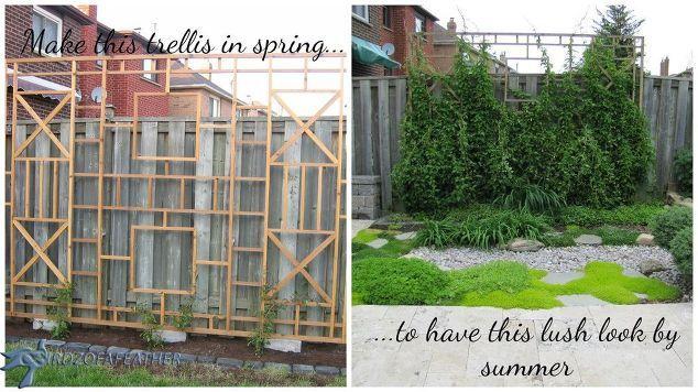Delightful Spring Forward Build A Trellis And Privacy Screen, Diy, Gardening, Outdooru2026