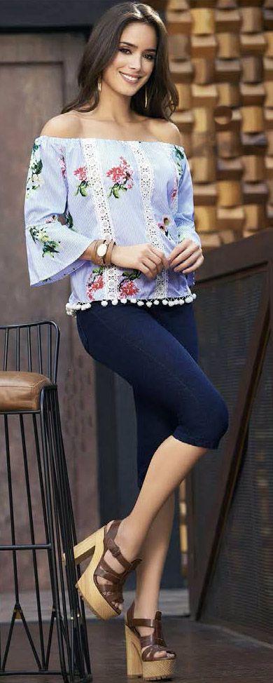 Blusas y jeans 100% hecho Colombia  moda  blusas  fashion  style  ropa   ventas 7d4277073162