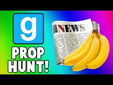Gmod Prop Hunt Funny Moments - Fruit Torture, Good NEWS, Killer Toilet! ...
