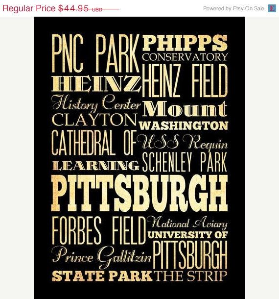 More #Pittsburgh Typography......