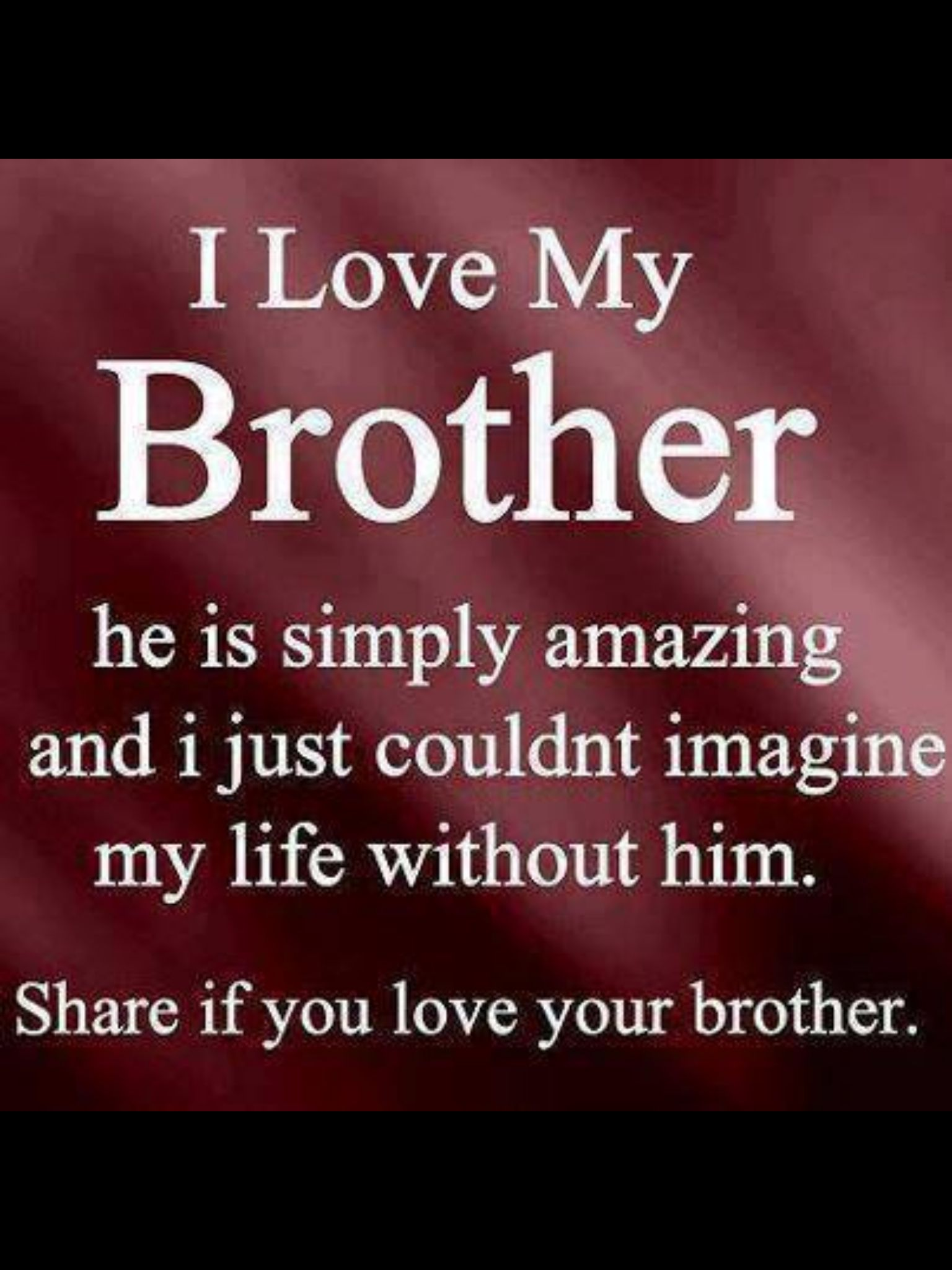 Love You Chuck Families Are Forever Pinterest Bruder Bruder