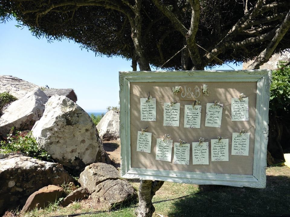 Seating plan para una boda en Tarifa. Exclusivo. Bodas. Wedding ...