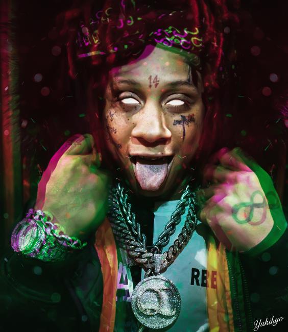 Trippie Redd Trippie Redd Rapper Art I Kill People
